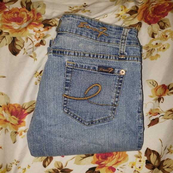 Seven7 Boot Cut Stretch Jean's